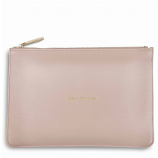 Katie Loxton GIRLY GOODIES Perfect Pouch Clutch Bag - Blush Pink